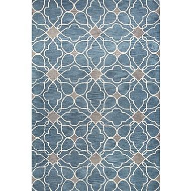Bashian Rugs Ashland Azure Rug; Rectangle 5' x 7'6''