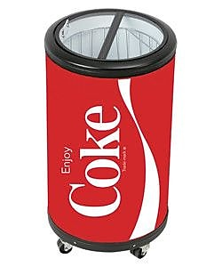 Koolatron Coca Cola 1.77 cu. ft. Compact Refrigerator WYF078278274130