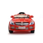 Best Ride On Cars Mercedes 12V Battery Powered Car; Red