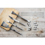 Innova Imports Stainless Steel Grilling Tool; 16 pc set