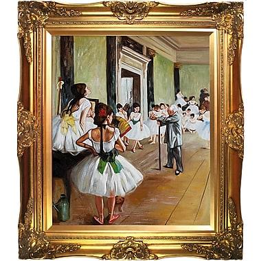 Tori Home The Dance Class by Edgar Degas Framed Painting