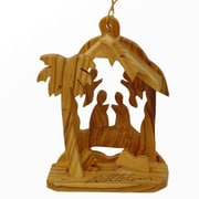 CarversArt The Angel House Nativity Ornament