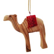 CarversArt 3-D Camel w/ Red Saddle Ornament