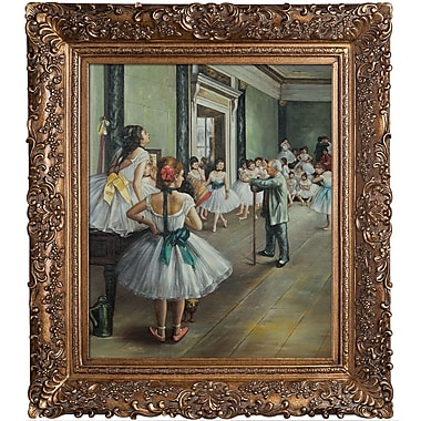Tori Home Degas The Dance Class Framed Painting