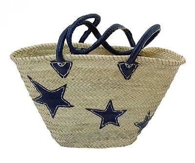 Casablanca Market Stars Basket; Blue