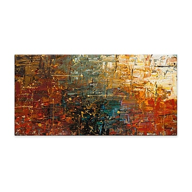 Artefx Decor Gold Splash by Carmen Guedez Painting Print on Canvas