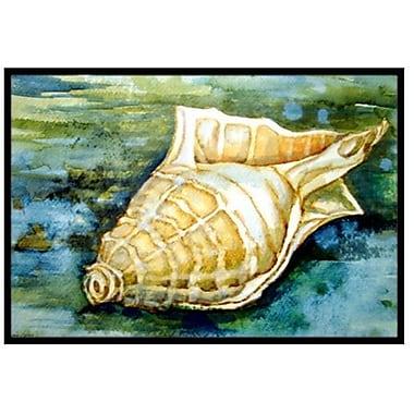 Caroline's Treasures Seashells Inspire Me Doormat; 1'6'' x 2'3''
