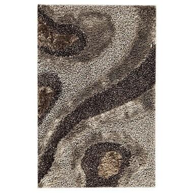 Hokku Designs Dunes Hand-Tufted Gray Area Rug; 7'10'' x 9'10''