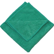 "Zwipes 16 x 16"" Microfiber Cleaning Towel, Green Package Of 12 (H1-727)"