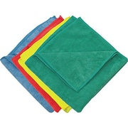 "Zwipes 16 x 16"" Microfiber Cleaning Towel, Assorted Colors Package Of 12 (H1-729)"