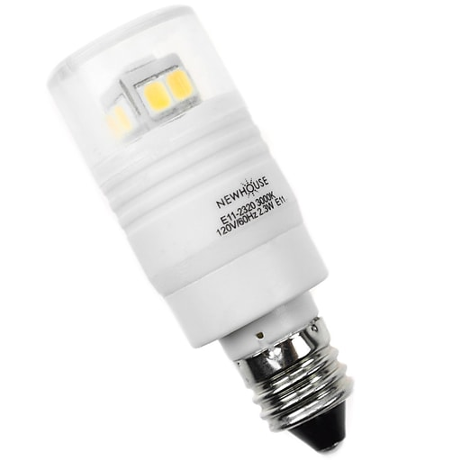 Newhouse Lighting 40w Equivalent Incandescent B10: Newhouse Lighting 2.3W LED Bulb With E11 Base (E11-2320