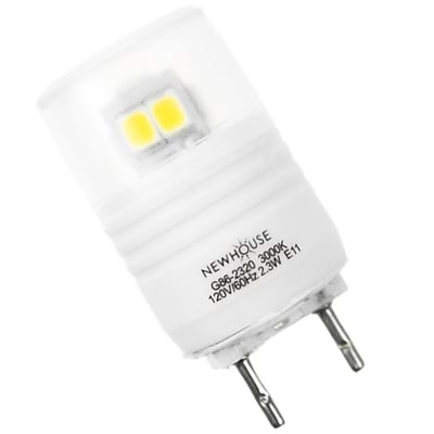 Newhouse Lighting 2.3W LED Bulb with GY8.6 Base (GY8-2320)