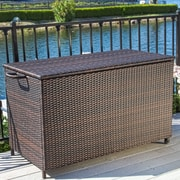 Home Loft Concepts Hampton 150 Gallon Wicker Deck Box