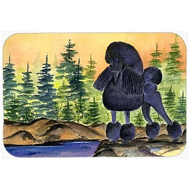 Caroline's Treasures Poodle Glass Cutting Board