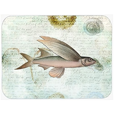 Caroline's Treasures Fish Glass Cutting Board