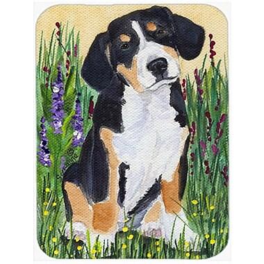 Caroline's Treasures Entlebucher Mountain Dog Glass Cutting Board