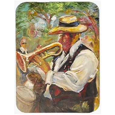 Caroline's Treasures Jazz Trumpet Glass Cutting Board