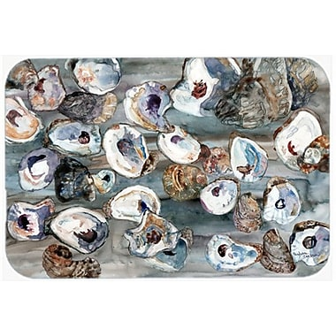 Caroline's Treasures Bunch of Oysters Glass Cutting Board
