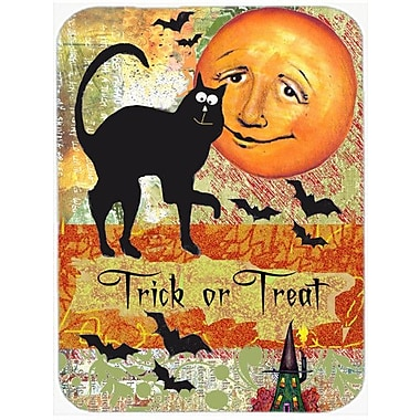 Caroline's Treasures Trick or Treat Moon Halloween Glass Cutting Board