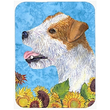 Caroline's Treasures Jack Russell Terrier Glass Cutting Board