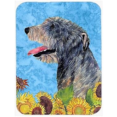 Caroline's Treasures Irish Wolfhound Glass Cutting Board