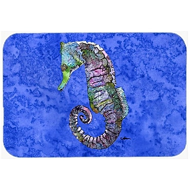 Caroline's Treasures Seahorse Glass Cutting Board