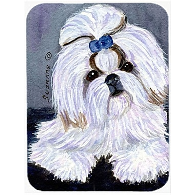 Caroline's Treasures Shih Tzu Glass Cutting Board