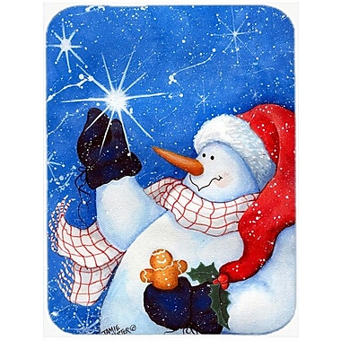 Caroline's Treasures This Ones for You Snowman Glass Cutting Board
