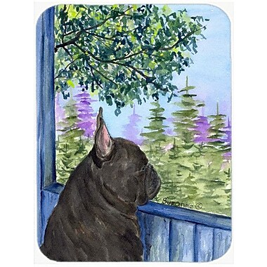 Caroline's Treasures French Bulldog Glass Cutting Board