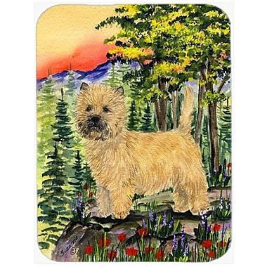 Caroline's Treasures Cairn Terrier Glass Cutting Board