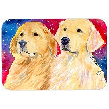 Caroline's Treasures Golden Retriever Glass Cutting Board