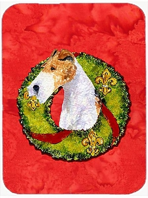 Caroline's Treasures Fox Terrier Glass Cutting Board