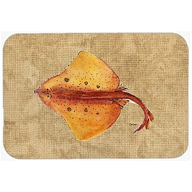 Caroline's Treasures Blonde Ray Stingray Glass Cutting Board