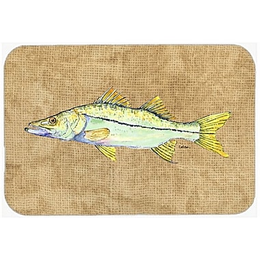 Caroline's Treasures Snook Glass Cutting Board