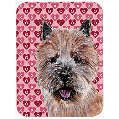 Caroline's Treasures Norwich Terrier Hearts and Love Glass Cutting Board