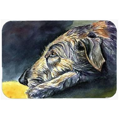 Caroline's Treasures Irish Wolfhound Sleeper Glass Cutting Board