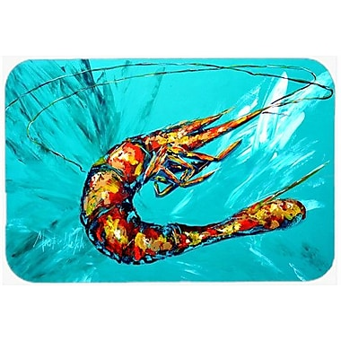 Caroline's Treasures Shrimp Glass Cutting Board