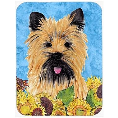 Caroline's Treasures Cairn Terrier Glass Cutting Board