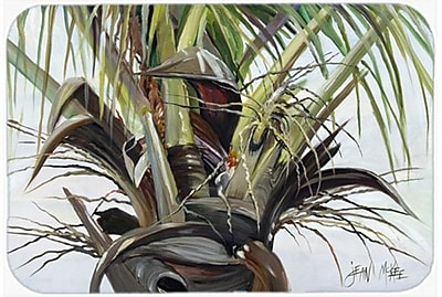 Caroline's Treasures Top Palm Tree Glass Cutting Board