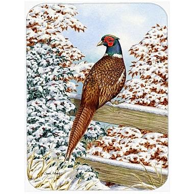 Caroline's Treasures Pheasant Glass Cutting Board