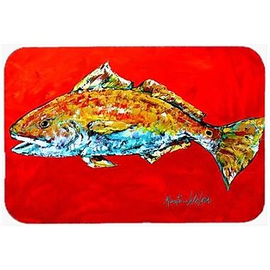 Caroline's Treasures Fish Head Glass Cutting Board