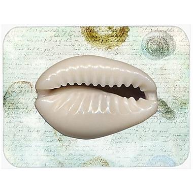 Caroline's Treasures Shells Glass Cutting Board