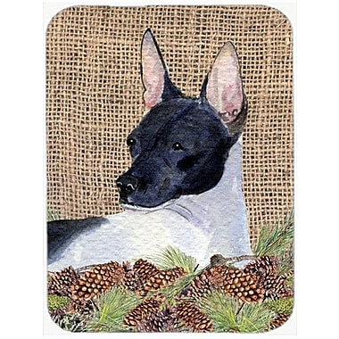Caroline's Treasures Rat Terrier Glass Cutting Board