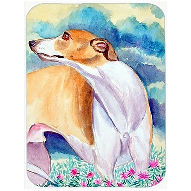 Caroline's Treasures Whippet Glass Cutting Board