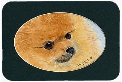Caroline's Treasures Pomeranian Glass Cutting Board