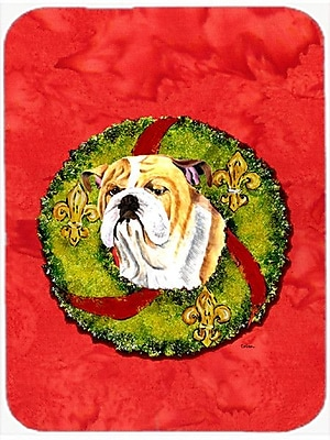 Caroline's Treasures English Bulldog Glass Cutting Board