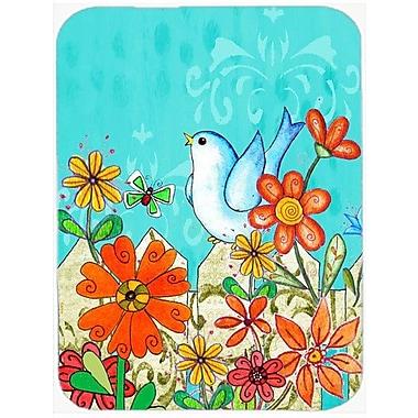 Caroline's Treasures Flower Good Day to Bloom Glass Cutting Board
