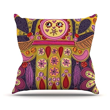 KESS InHouse Indian Jewelry Outdoor Throw Pillow