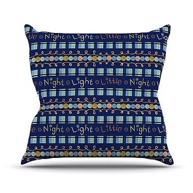 KESS InHouse Little Night Light Outdoor Throw Pillow