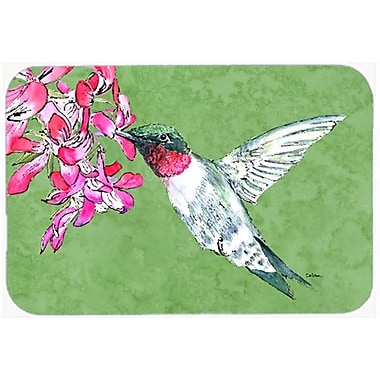 Caroline's Treasures Hummingbird Glass Cutting Board